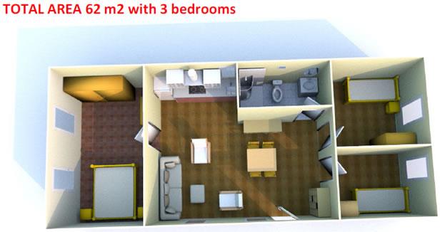 Sample model homes