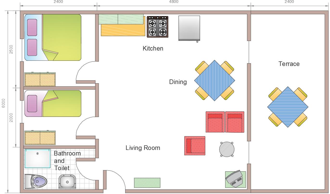 Oilfield quarters flatpacks, Oilfield accommodation, Oilfield Camps