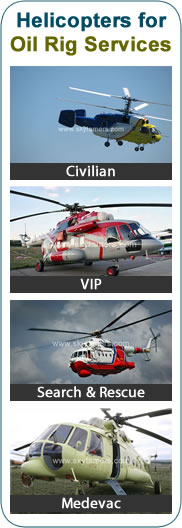 Helicopters for Sale, Helicopters for Oil Rig Services