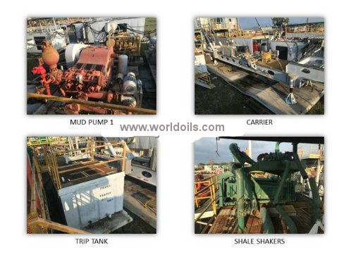 10,000 ft Drilling Depth Land Drilling Rig for Sale