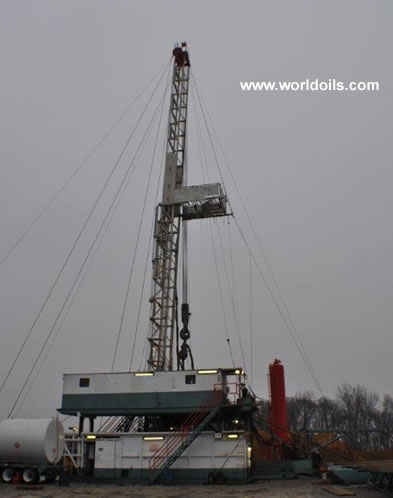 Ideco H44 Used Drilling Rig