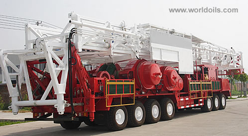1000hp Self Propelled Drilling Rig