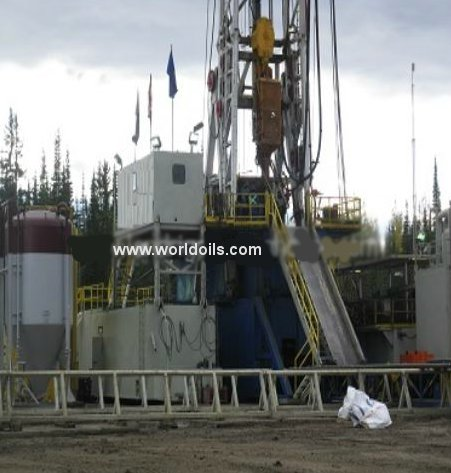 1200HP Used Drilling Rig For Sale in USA