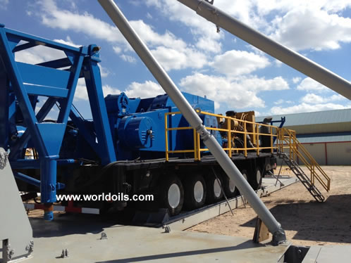 Chinese RG 1300 Trailer Mounted Drilling Rigs