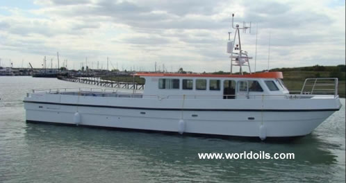 Workcat Catamaran Type Crew Boat for Sale