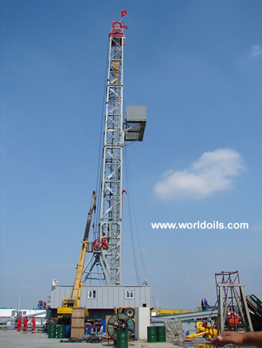 1500HP Electric Land drilling Rig
