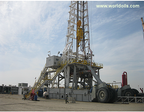 Top Oilfield Triple 1500hp SCR Rig for Sale