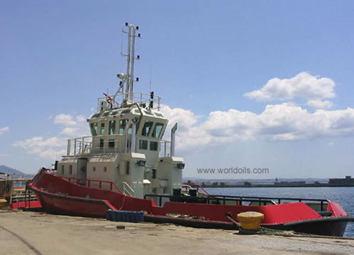 Harbor Tugs for Sale http://www.worldoils.com/marketplace/equipdetails.php?id=179&Harbour%20Tug%20for%20Sale%20-%201500bhp%20Harbour%20Tug%20in%20Mediterreanean