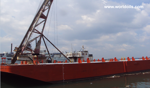 180ft Flat Top Deck Cargo Barge for Sale