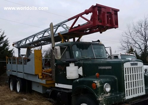 1972 Built Bucyrus Erie 10R Drilling Rig for Sale