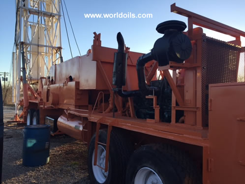 Franks 658 Drilling Rig in USA