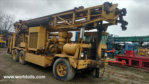 Ingersoll-Rand T4W Drill Rig in USA
