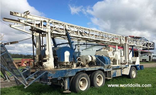 1976 Speedstar SS-22 - Cummins Powered Drilling Rig for Sale