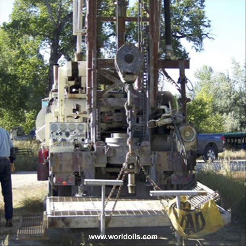 Speedstar SS-22 Mud Rotary Used Drill Rig