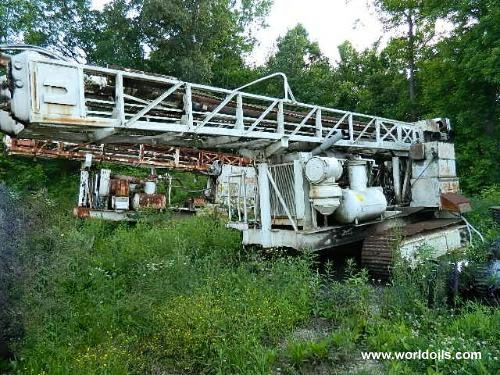 Driltech D40K Crawler Track Drill Rig - For Sale - 1978 Built