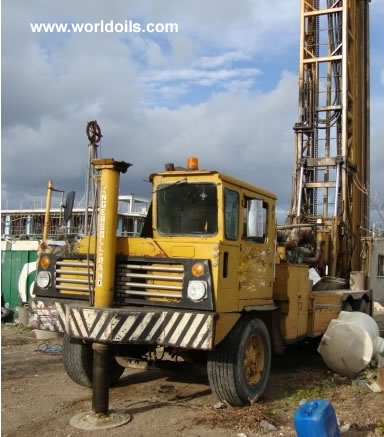 Ingersoll-Rand T4W Used Drill Rig Built 1978 for Sale