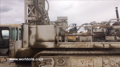 1980 Bult Driltech D40K Crawler Drill Rig for Sale