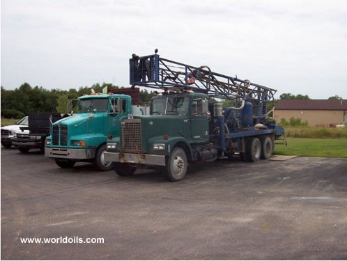 Midway 13M Drill Rig 1980 Built for Sale