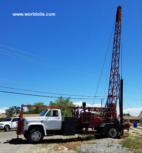 Davey M8 Drill Rig in USA