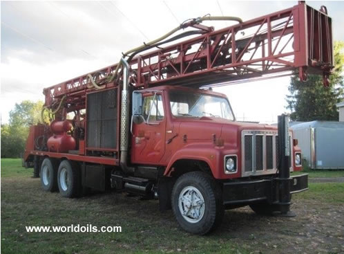 Ingersoll-Rand TH55 Cyclone Drill Rig for Sale