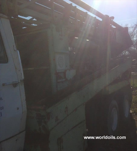 Chicago Pneumatic 650 Used Drilling Rig for Sale