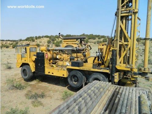 Ingersoll-Rand T4W 1986 Built Drill Rig for Sale