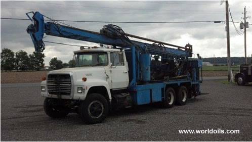 Canterra CT550 Drilling Rig - 1988 built - for Sale