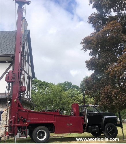 1989 Built Canterra CT-350 Drilling Rig for Sale