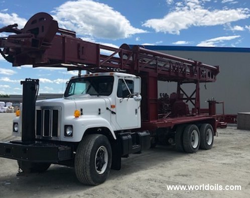 Reichdrill T650W Drilling Rig - 1991 Built for Sale