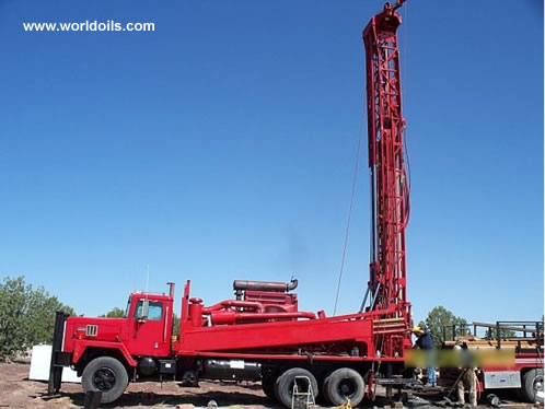 Ingersoll-Rand TH75 Used drilling rig for sale 1991 Built
