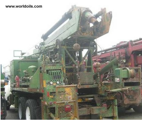 Used drilling rig Failing F-6