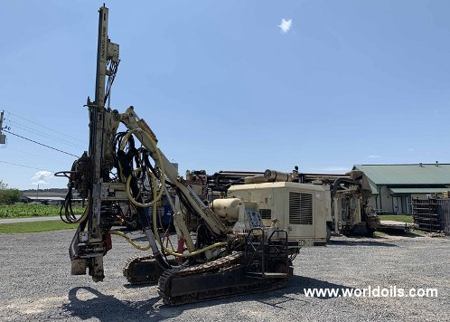 1994 Built Ingersoll-Rand ECM 370 Crawler Drilling Rig