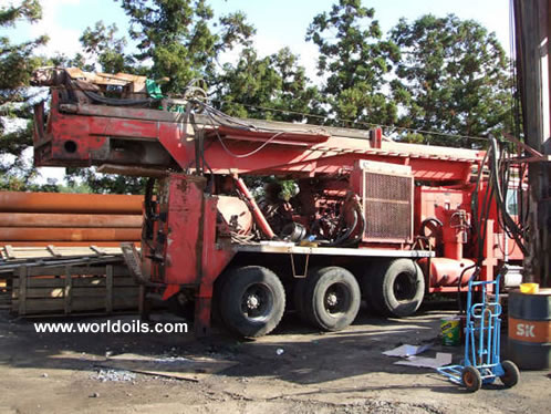 1995 Built Foremost Barber DR12/36 drill rig