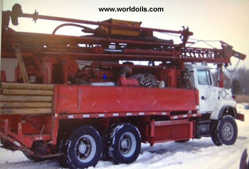 Used Schramm T450W Drilling Rig - For Sale