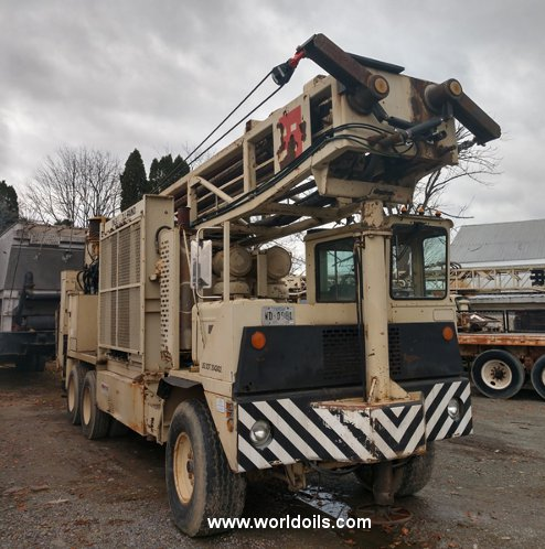 1996 Built Ingersoll-Rand T4W Drilling Rig for Sale