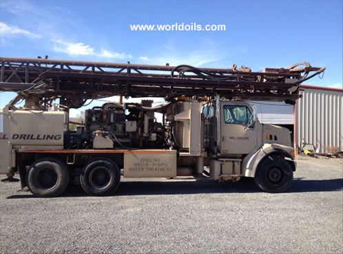 Driltech T40K Drill Rig in USA