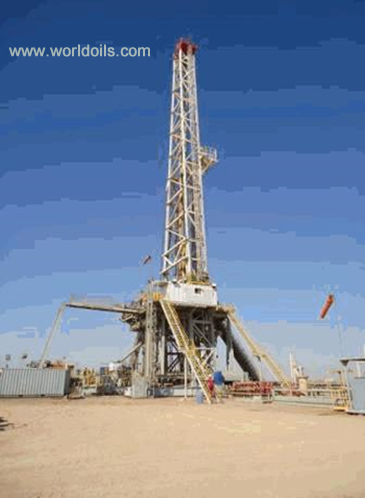 2000HP Swing Up Triple Drilling Rig for sale