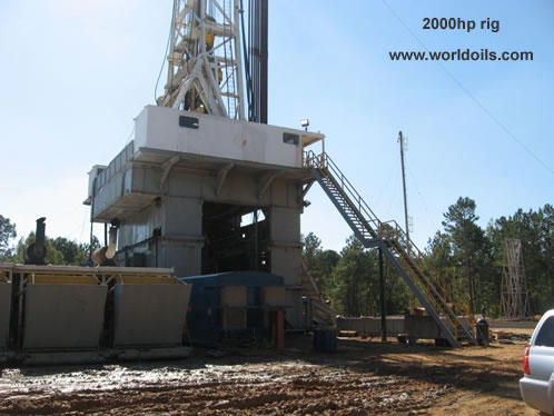 American made 2000HP Land Drilling Rig