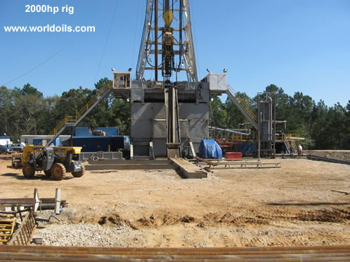 2000hp Used Land Rig For Sale