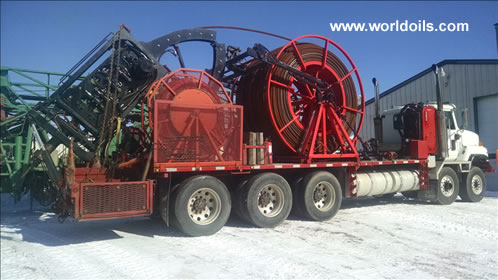 Coiled Tubing Drill Rig -2002 Built