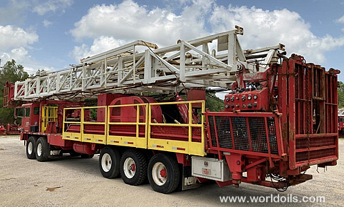 2002 Built Dreco Rig for Sale