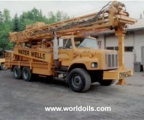 Drilling Rig - Schramm T-555 - 2002 Built  For Sale