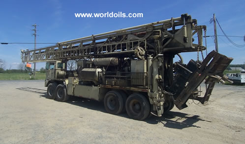 Ingersoll-Rand RD20 Range III Drill Rig for sale USA
