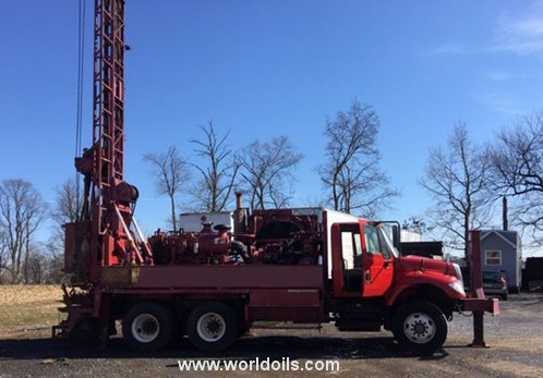 2003 Built Schramm T450WS Drill Rig for Sale