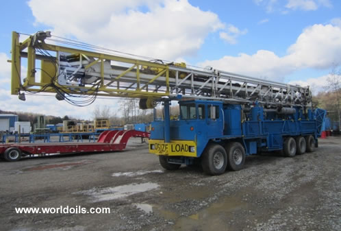Ingersoll-Rand / Atlas Copco RD20 - Range III Drilling Rig For Sale
