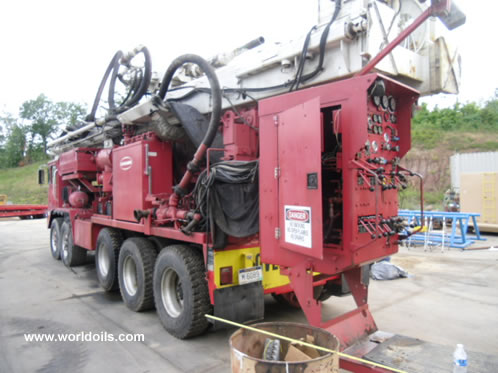 Schramm T130XD Drilingl Rig 2004 Built for Sale