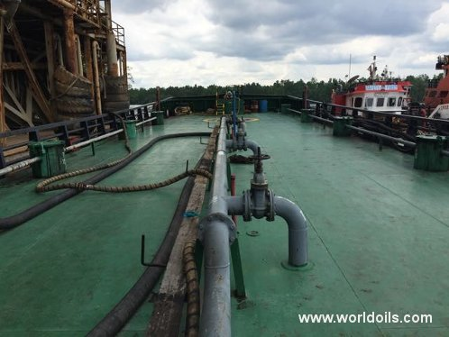 2007 Built Self Propelled Oil Barge  for Sale