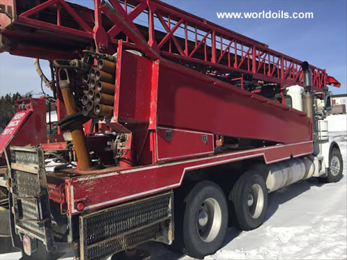 2007 Built Gefco Drill Rig for Sale