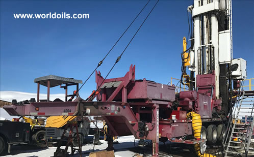 2009 Built Schramm TXD Drilling Rig -  For Sale