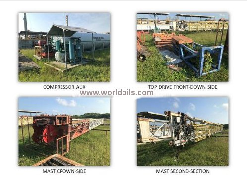 2009 Built TSM 850 Trailer Mounted Drilling Rig for Sale
